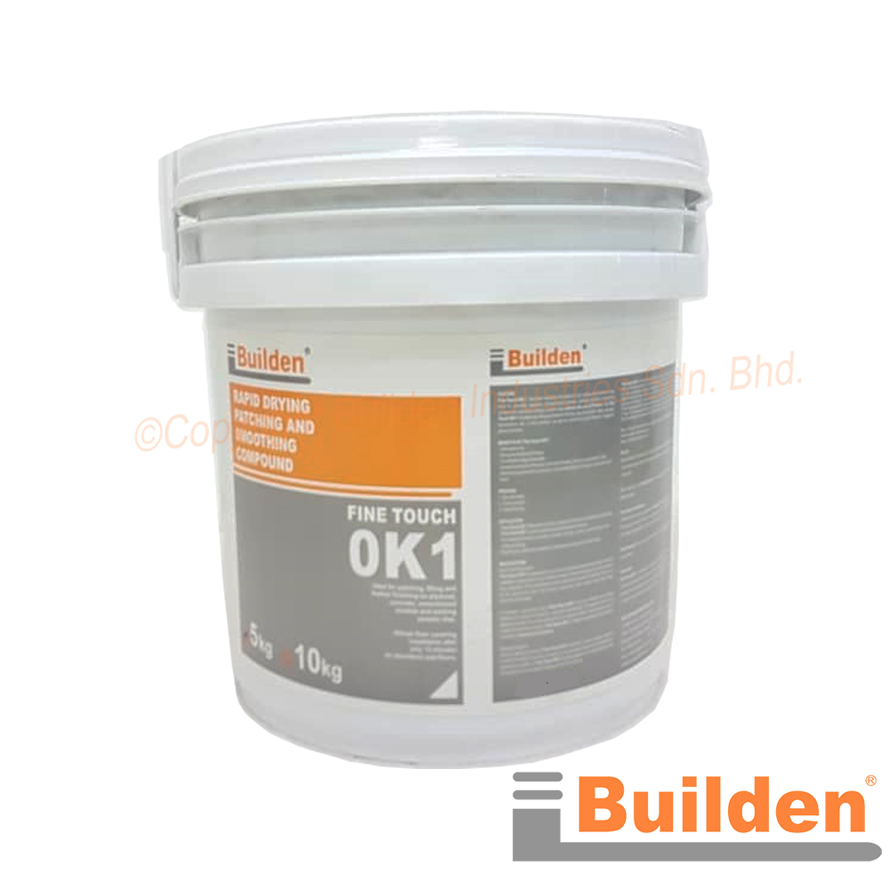 Builden Fine Touch OK1 Rapid Drying Patching and Smoothing Compound