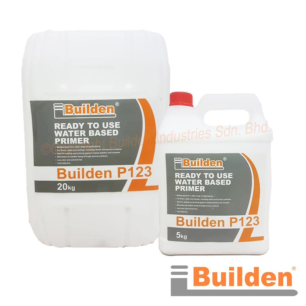 Builden P123: Builden P123 Ready to Use Water Based Primer