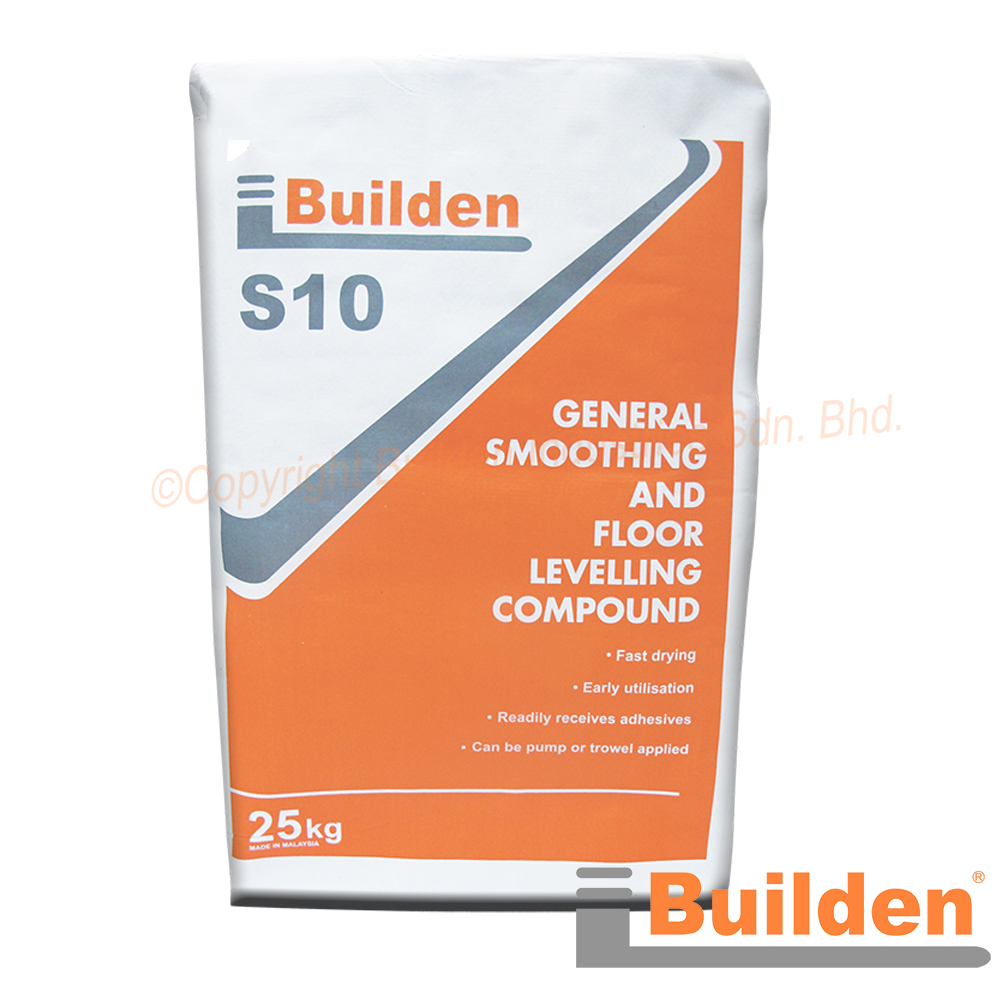 Builden S10: General Smoothing and Floor Levelling Compound