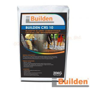 Builden CRS10: In-Depth Slurry Cementitious Crystalline Waterproofing