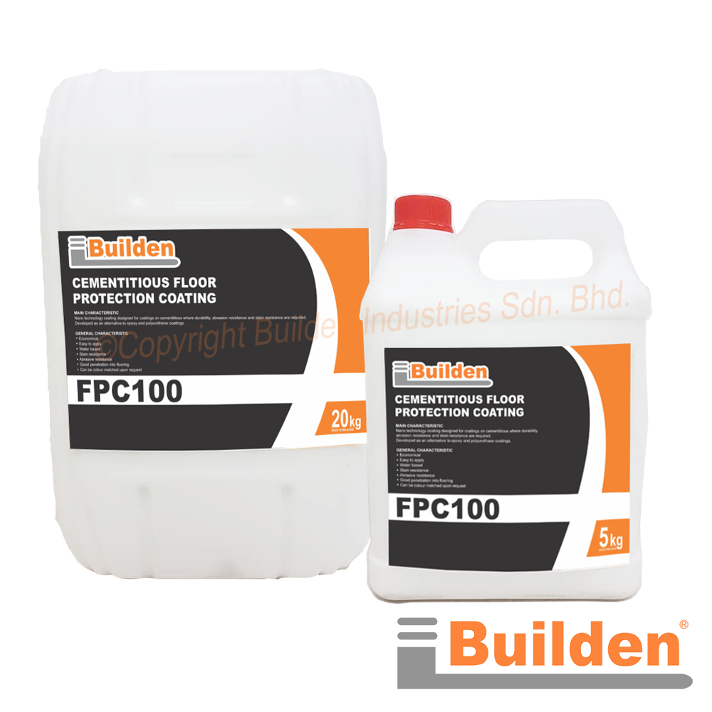 Builden FPC-100: Cementitious Floor Protection Coating